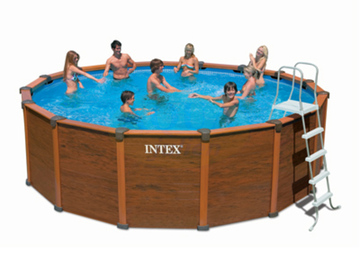 liner pour piscine sequoia intex. Black Bedroom Furniture Sets. Home Design Ideas